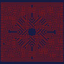Suns Of Arqa - Muslimgauze - Blue And Red Edition